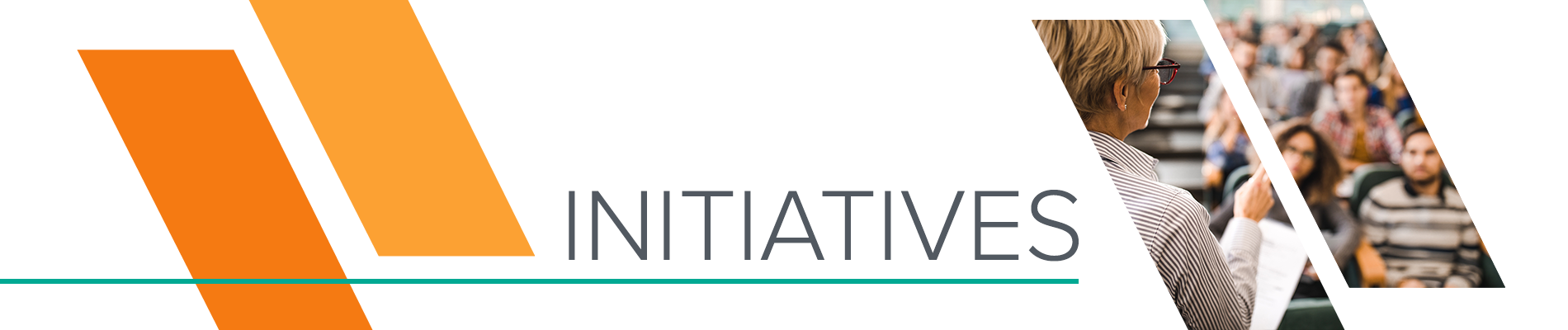 Initiatives header
