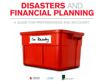 Disasters and Financial Planning graphic