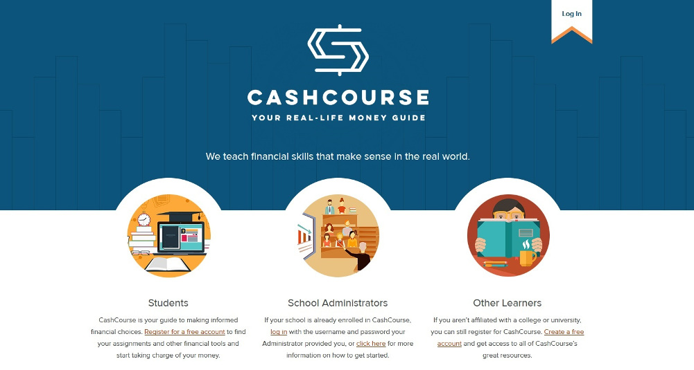 CashCourse website screenshot