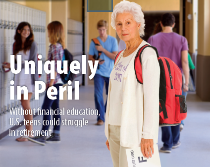 Uniquely in Peril: Without Financial Education US Teens Could Struggle in Retirement