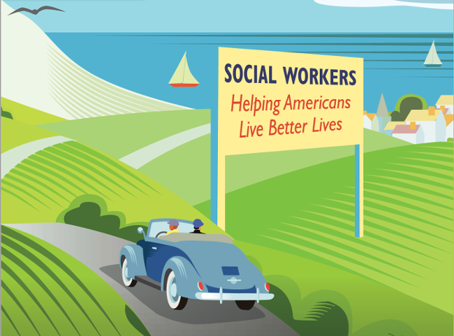 Social workers helping Americans live better lives