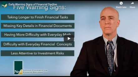 early warning signs of financial decline video