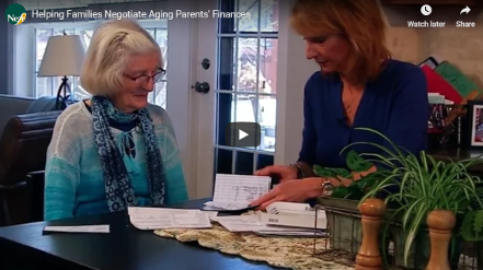 helping families negotiate aging parents video